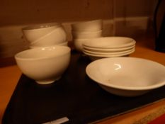 * assorted bowls x 12
