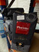 * 6 x 1kg Piacatte espresso coffee beans