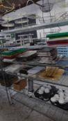 * 6 tier wire rack. 1530w x 530d x 1900h