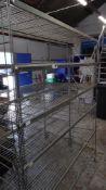 * 6 tier wire rack. 1520w x 450d x 1900h