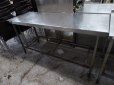* S/S prep bench. 1680w x 610d x 860h