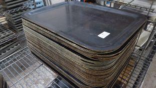 * approx. 40 x black trays