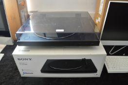 *Sony PSLX310BT Bluetooth Turntable