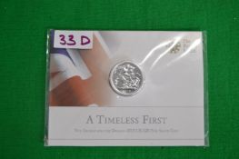 Royal Mint 2013 UK £20 George & The Dragon Fine Silver Coin