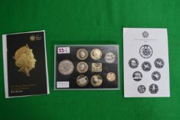 Royal Mint 2016 UK Collector Proof Coin Set