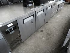 *Three Door Refrigerated Preparation Counter