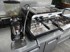 *Star Single Phase Group Espresso Coffee Machine with Grinder