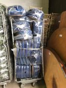 135 x Blue Seat Pads and Cage Collection From Grantham NG32 2AG on 19th and 20th May 10am till 3pm