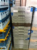 10 x Cambro Glass Racks - Mixure of glasses held. 20's, 25's and 36's Collection From Grantham