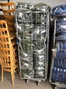 185 x Green Seat Pads and Cage Collection From Grantham NG32 2AG on 19th and 20th May 10am till 3pm