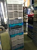 10 x Glass Racks - Mixure of glasses held. 20's, 25's, 36's and 49's Collection From Grantham NG32