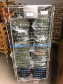 100 x Green Seat Pads and Cage, plus some blue and black pads Collection From Grantham NG32 2AG on