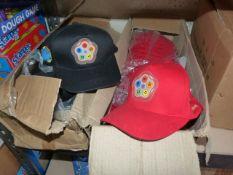 *Box of Black Tweeny Caps and Part Box of Red Twee