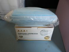 *Box of 50 AAA+ Disposable Respirators