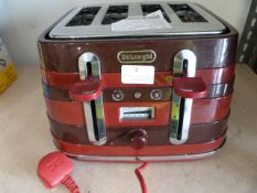 *Delonghi Red Toaster