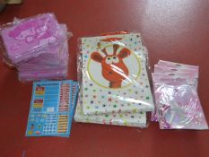 *Quantity of Children's Gift Bags, Wands, Tiaras,