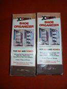 *2 Xtendables Shoe Organisers