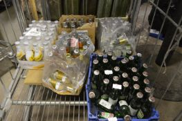 *5 Part Trays of Schweppes and Other Tonic Waters