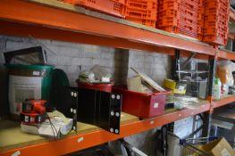 Shelf of Assorted Items...