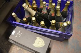 *20+ Display Champagne Bottles