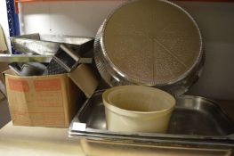 *Food Warming Trays, Cake Stand, Grater, Roasting