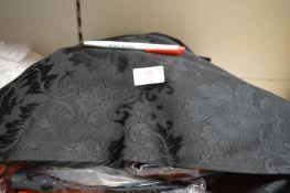 *~100 Black Brocade Napkins