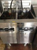 Frymaster Three Phase Twin Deep Fat Fryer