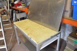 Aluminium Framed Preparation Table