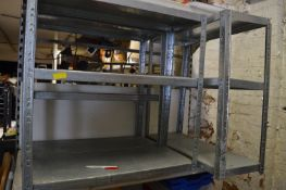 Three Sections of Adjustable Shelving 770x750mm