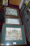 Three Framed Lowry Prints