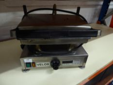 * Velox electric contact grill