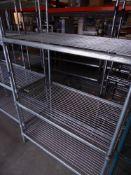* 3 tier wire rack. 1020w x 620d x 1850h