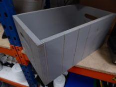 * grey crate