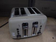 * 4 slice toaster
