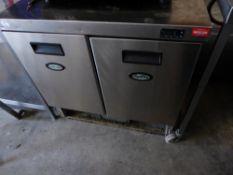 * Fosters 2 door preptop fridge. 870w x 730d x 890h