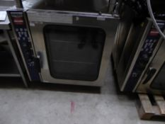 * Electrolux ECV/G102/1 gas steam convection oven - 10 rack with stand. 900w x 1250d x 800h (1650h
