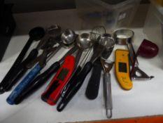 * assorted utensils