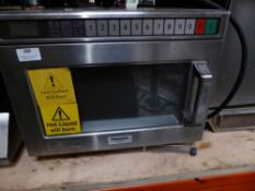 * Panasonic NE-1853 commercial microwave - direct from a national chain