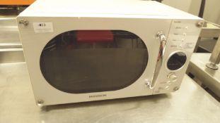 * Daewoo 800w cat E domestic microwave