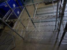 * 3 tier wire rack. 900w x 350d x 960h