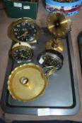 Vintage Alarm Clocks and Brassware