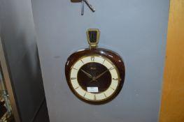 Vintage Cunzle Wall Clock