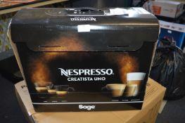*Sage Nespresso Coffee Machine