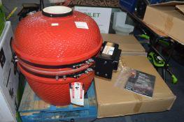 """*24"""" Red Komodo Louisiana Barbecue Grill"""