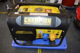 *Champion 2800w Generator