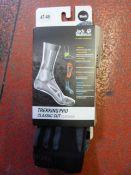 *Trekking Pro Classic Cut Socks in Black Size: 47-
