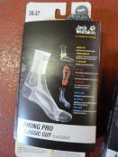 *Hiking Pro Classic Cut Socks in Dark Grey Size: 3