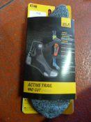 *Trekking Pro Classic Cut Socks in Light Grey Haze