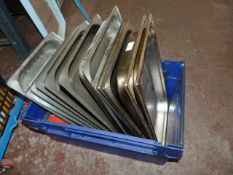*Quantity of Stainless Steel Preparation Trays