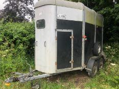 horsebox - ifor williams HB 505r good tyres solid floor NO VAT